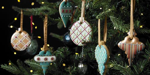 (SOLD OUT) Biscuiteers School of Icing - Christmas Tree Decorations - Notting Hill