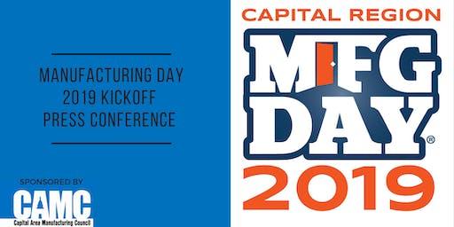 Capital Region MFG Day 2019: Kickoff Press Conference: Kickoff Press Conference