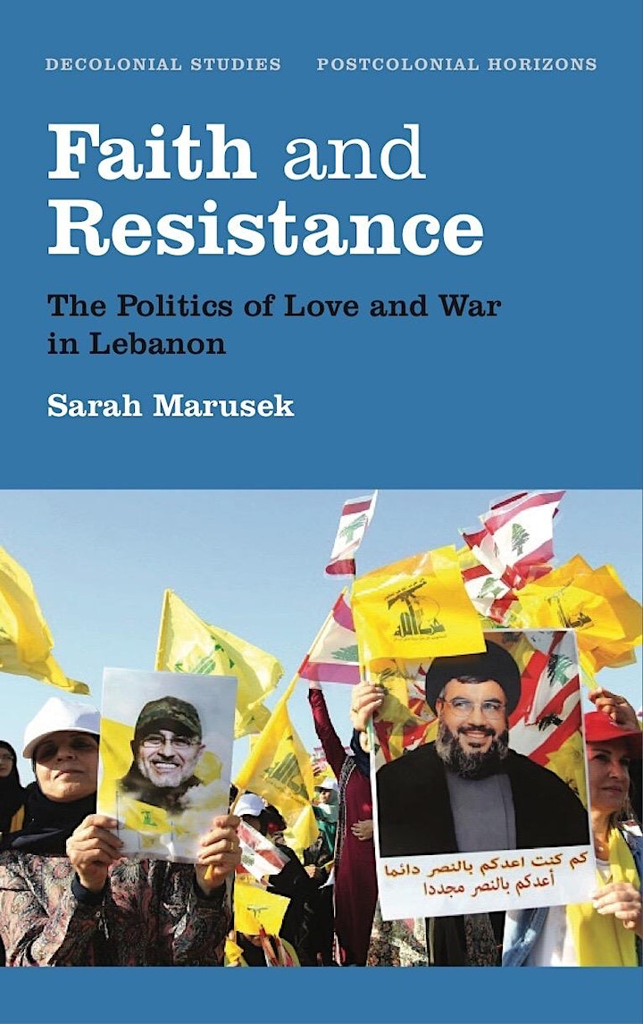 Author evening with Sarah Marusek: Faith and Resistance image