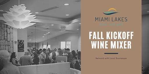 Miami Lakes Fall Kickoff Wine Mixer