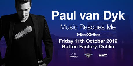 Paul Van Dyk at Button Factory | Music Rescues Me Album Tour tickets