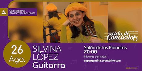 Ciclo de conciertos - Silvia López entradas