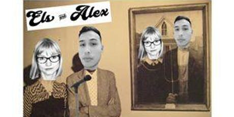 Els & Alex do a comedy night billets