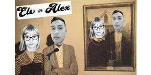 Els & Alex do a comedy night