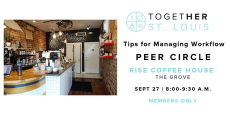 September Peer Circle - Serving as Your Own Project Manager tickets