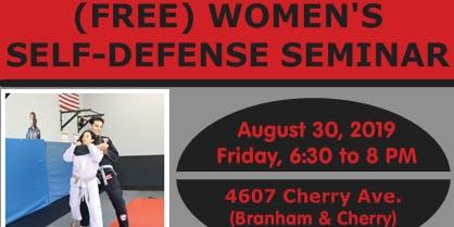 (FREE) Women's Self-Defense Class