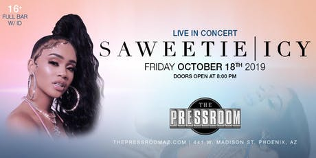 SAWEETIE @ The Pressroom tickets