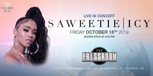 SAWEETIE @ The Pressroom