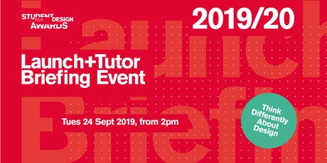 2019/20 RSA Student Design Awards - Launch + Tutor Briefing tickets