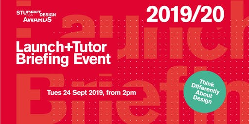 2019/20 RSA Student Design Awards - Launch + Tutor Briefing