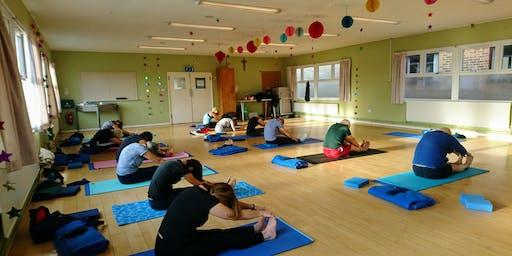 Yoga for Beginners Wednesday 6th November 2019