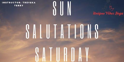 Sun Salutations Saturday
