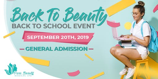 Back To Beauty Event