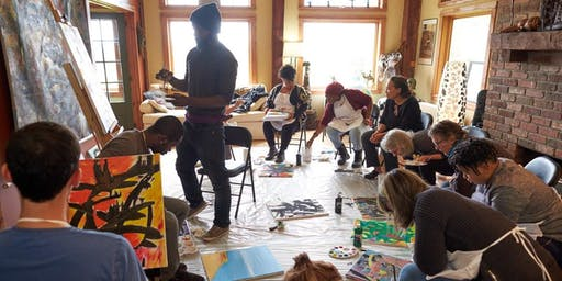 """Art That Binds""  Haitian-American Culture & Painting Community Classes"