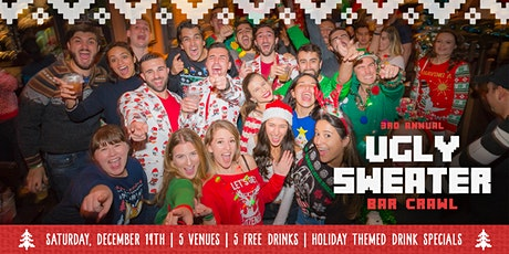 3rd Annual Ugly Sweater Bar Crawl in Brickell tickets