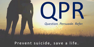 Lunch and Learn: QPR Gatekeeper Training for Suicide Prevention