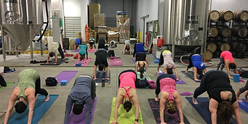 Yoga & Beer at Fair Winds Brewing
