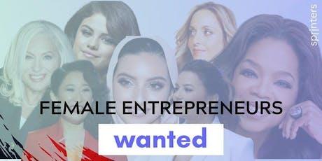 Female Entrepreneurs Wanted   boletos