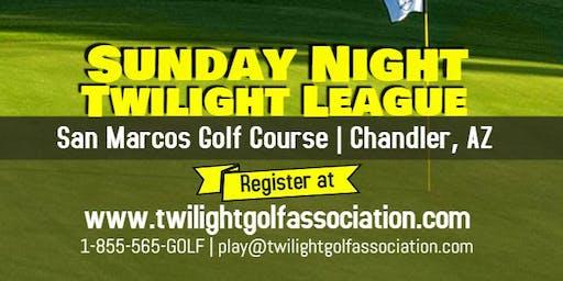 Sunday Twilight League at San Marcos Golf Course