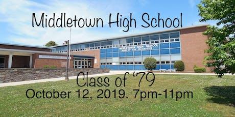 Middletown High School Class of '79 tickets
