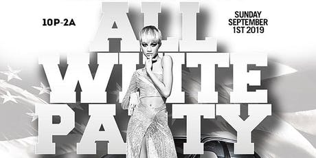 All White Labor Day Party at GHOST BAR Houston tickets