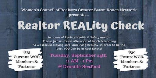 Realtor REALity Check