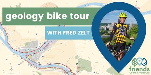 Geology Bike Tour with Fred Zelt and Friends