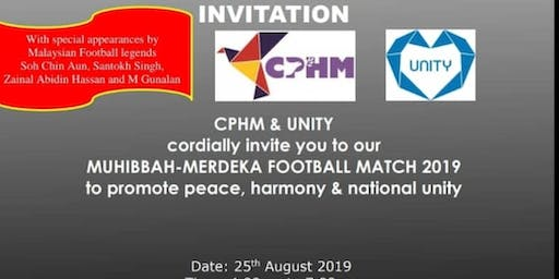 MUHIBBAH MERDEKA FOOTBALL 2019