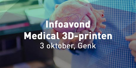 Infoavond Medical 3D-printing tickets
