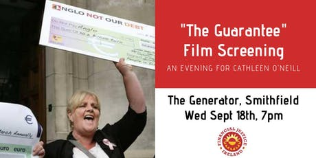 The Guarantee Film Screening: Fundraiser for Cathleen O'Neill tickets