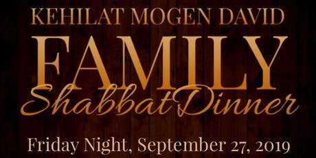 KMD Family Shabbat Dinner tickets