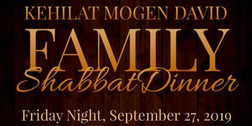 KMD Family Shabbat Dinner