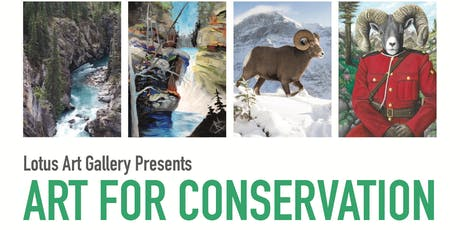 Protecting our National Parks - Art for Conservation CPAWS presentation  tickets