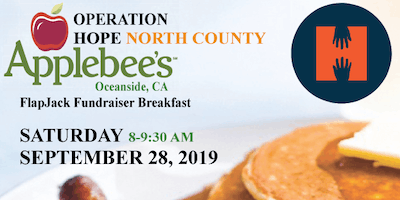 Applebee's Flapjack Fundraiser Breakfast benefiting Operation HOPE-North County