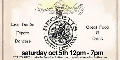 BECKETT'S CELTIC FESTIVAL