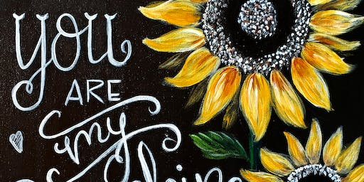 You Are My Sunshine-Paint Night