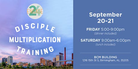 Disciple Multiplication Training in partnership with Engage 24 tickets