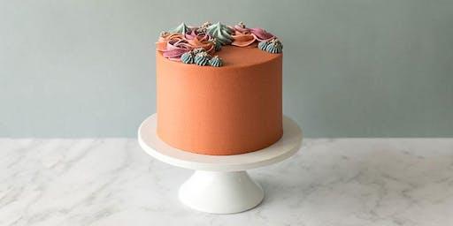 Wreath Cake Decorating