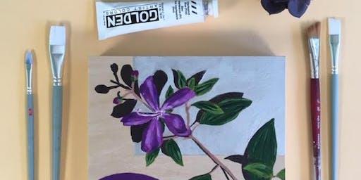 Jennifer Nolan: Painting Nature in Acrylic Workshop