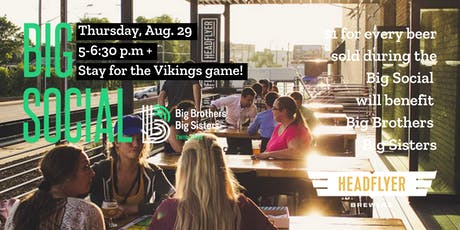 Big Social + Vikings Watch Party tickets