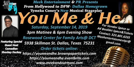 You, Me & He Musical Stage Play  tickets