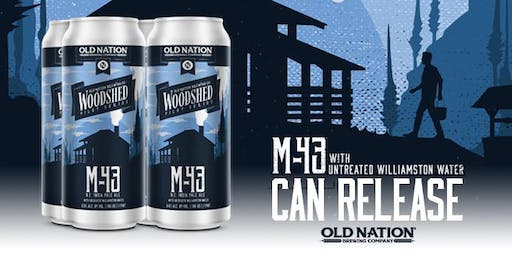 M-43 Natural Water Brewery only release!