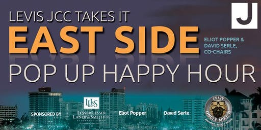 Levis JCC East Side: Pop Up Happy Hour - Tuesday, September 24th
