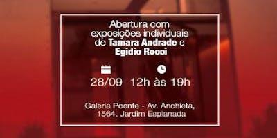 Inauguração da Galeria de Artes Poente
