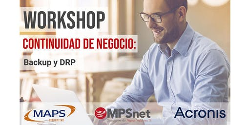 MPSnet: Workshop Continuidad TI - Backup y DRP