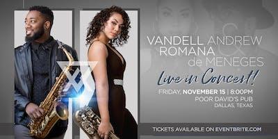 VIRAL Sax Duo Vandell Andrew & Romana de Meneges Live in Concert!
