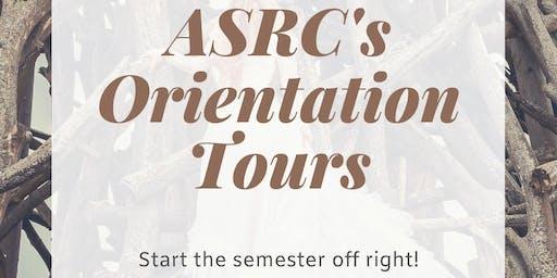 ASRC's Orientation Tour: Loyola Campus
