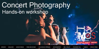Concert Photography workshop - Colorado Springs