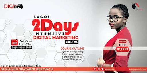 LAGOS DIGITAL MARKETING COURSE.(PAID)