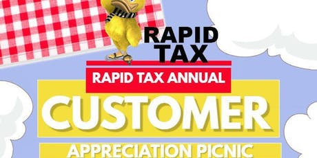 Rapid Tax Annual Customer Appreciation Picnic tickets